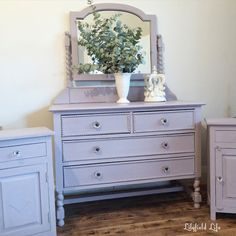 ASCP Paloma dressing table and bedsides - Lilyfield Life