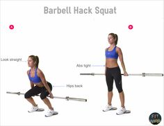 Learn how to perform barbell hack squat