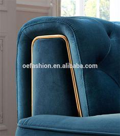 Sectional Living Room Sets, Living Room Sofa Design, Royal Furniture, Bed Furniture, Blue Sofa Set, Furniture Styles, Furniture Design, Luxury Sofa, New Home Designs