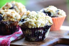 The eccentric Cook: Blueberry Muffins