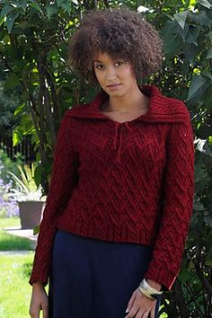 Fauna Pullover  by Shirley Paden  http://www.ravelry.com/patterns/library/fauna-pullover
