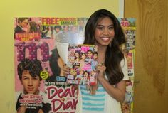 Ashley Argota is in May's issue of M Magazine