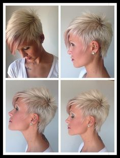 Short Hairstyles For Women, Bobbed Hairstyles With Fringe, Mom Hairstyles, Cute Hairstyles For Short Hair, Short Hair Cuts For Women, Short Hair Styles, Short Haircut, Blonde Hair, Short Blonde