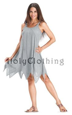Shop Helena Sexy Chiffon ZigZag Hem Gothic Baby Doll Mini Sun Dress in Silver Pewter: http://holyclothing.com/index.php/haley-puff-sleeve-lace-up-renaissance-peasant-corset-dress.html. Repins are always appreciated :) #HolyClothing #fashion #Sexy #Chiffon #ZigZagHem #Gothic #BabyDoll #Mini #SunDress