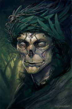 The Green King by PeteMohrbacher