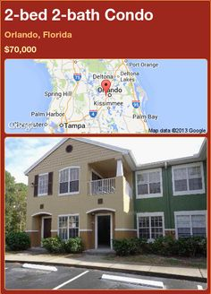 2-bed 2-bath Condo in Orlando, Florida ►$70,000 #PropertyForSale #RealEstate #Florida http://florida-magic.com/properties/85845-condo-for-sale-in-orlando-florida-with-2-bedroom-2-bathroom