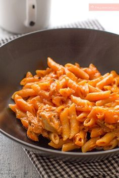 Pasta Thermomix, Good Healthy Recipes, Kitchen Recipes, Creative Food, How To Cook Pasta, My Favorite Food, Cooking Time, Italian Recipes, Pasta Recipes