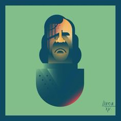 Geometric Prints Featuring Popular Game Of Thrones Characters - UltraLinx