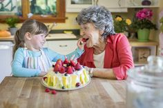 Arrange a Grandma-Granddaughter baking date!