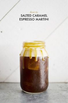 HOW TO: SALTED CARAMEL ESPRESSO MARTINI