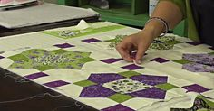 You'll Love The Quatrefoil Quilt: It's Quick, Easy, And So Pretty!