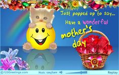 Mother's Day card from my dear friend Trisha