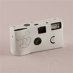 Buy Weddingstar White And Silver Enchanted Hearts Disposable Camera Other Personalized Wedding Favors Gifts
