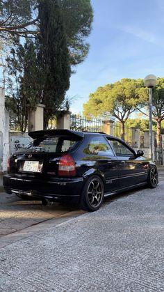 1999 Honda Civic, Honda Civic Hatchback, Ek Hatch, Jdm Wallpaper, Import Cars, Dream Cars, Boats, Cars, Pickup Trucks