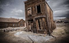 Haunted Places in California | The story of Bodie, California, begins with the discovery of gold ...