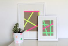 How To Make Graphic Wall Art | Making it Lovely    Done