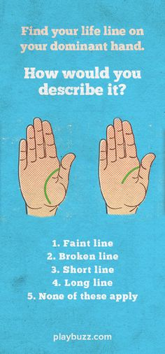 Honestly, truly... palm reading is the best way to reveal who you actually are.