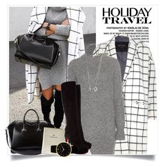 """Travel in Style"" by junglover ❤ liked on Polyvore featuring River Island, Wood Wood, Christian Louboutin, Givenchy, FOSSIL and Larsson & Jennings"