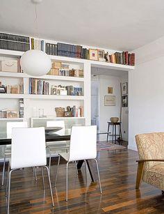 Librerías bien elegidas - Reportaje - Decoracion facil - Ideas para ganar espacio, decoracion facil, reciclaje de muebles - CASADIEZ.ES