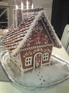 Gingerbread house, pepparkakshus. 2012