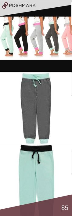 Girls 2 Tone Slim Fit Joggers Size L&XL SuperDeal NWT As Shown Tapered Ankle Drawstring Waist  2 Tone  Make Shipping Worthwhile and Get 5% Off the Already Low Price by Bundling 3 or More Items from My Closet! Bottoms Sweatpants & Joggers