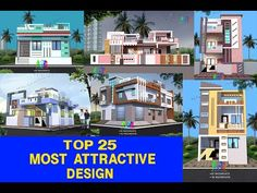 Village House Design, Village Houses, Modern Small House Design, Cool House Designs, Front Elevation Designs, Good House, Mansions, Architecture, House Styles
