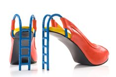 kobi levi: footwear art  'slide' by kobi levi  image © kobi levi footwear design