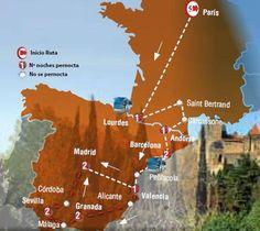 Oferta de viaje a Francia. Entra, informate y reserva el viaje Circuito de 13 dias  por Par�s, Sur de Francia y Espa�a inicio en Paris y Final em Madrid