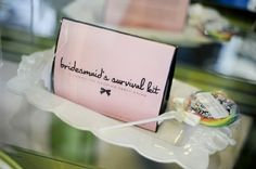 Bridesmaid Gifts!