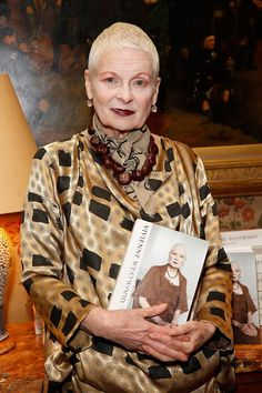 Vivienne Westwood by Vivienne Westwood & Ian Kelly Book Launch Party #VivienneWestwood #Anglomania #MelissaShoes