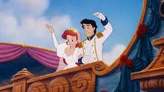 Ariel's wedding scene in the little mermaid, disney.