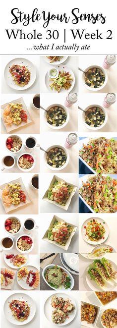 Whole 30   Week 2 Update + Week 3 Meal Plan   Style Your Senses