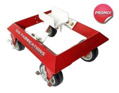 These Car Moving Dollies are the best choice for body shops and any facility that needs to move disabled vehicles fast and easy. Easy as moving a car on ice! Watch the VIDEO and they are on sale too! Rated at load each dolly. Workshop Storage, Garage Workshop, Garage Tools, Garage Storage, Garage Ideas, Moving Dolly, Welding Design, Camper Van Conversion Diy, Mechanic Tools