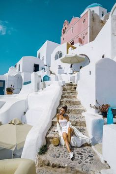 How to Style Square Neckline Pieces - white bodysuit, all white summer outfit, greece travel look // Notjessfashion.com