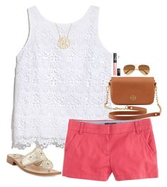 """""""7 Day Challenge Winners! // 8.6.15"""" by ellekathleen ❤ liked on Polyvore featuring Lilly Pulitzer, J.Crew, Jack Rogers, Ray-Ban, Tory Burch, NARS Cosmetics and elles7daychallenge"""