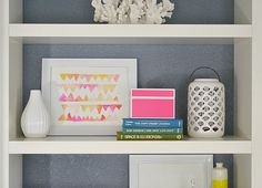 3 Ingredients to Perfectly Styled Shelves
