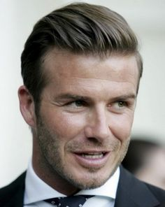 2014 Latest Men's Hair Trends for Spring & Summer ... Classic-Hairstyles-D-Beckham └▶ └▶ http://www.pouted.com/?p=36618