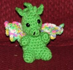 Baby Dragon Amigurumi pattern on Craftsy.com