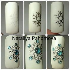 Идеи дизайна ногтей - фото,видео,уроки,маникюр! | VK Luxury Beauty - winter nails - amzn.to/2lfafj4 Beauty & Personal Care - Makeup - Nails - Nail Art - winter nails colors - http://amzn.to/2lojz72