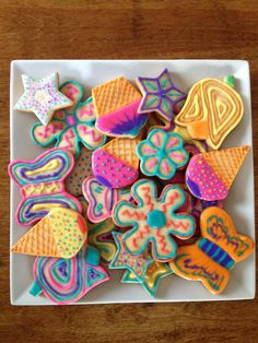 Galletas decoradas con Royal Icing!!