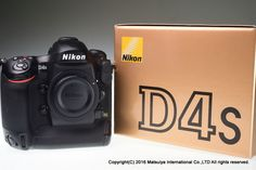 NIKON D4S 16.2 MP Digital Camera Body Excellent+ #Nikon