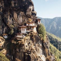 Hiking the Tiger's Nest in Bhutan is an epic journey. Check out @sophy_roberts hike at out link in bio. ⛰