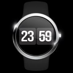 フリップ ウォッチフェイス Android Wear, Android Apps, Simple Watches, Watch Faces, Google Play, Clock, Watch, Clocks