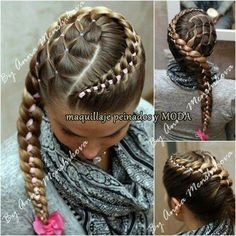 Cool braided hairstyle