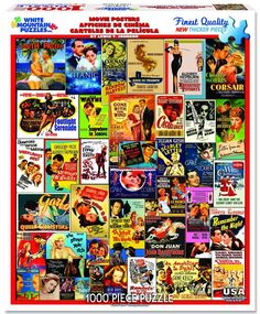 MOVIE POSTERS - 1000 Piece Jigsaw Puzzle