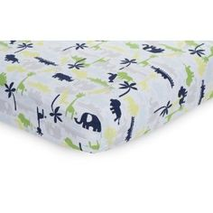 Carter's Safari Sky Fitted Sheet