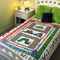 Be Sew Happy Quilt Shop - The Very Hungry Caterpillar Quilt Kit by Liz Porter, $42.95 (http://www.besewhappy.com/products/The-Very-Hungry-Caterpillar-Quilt-Kit-by-Liz-Porter.html)