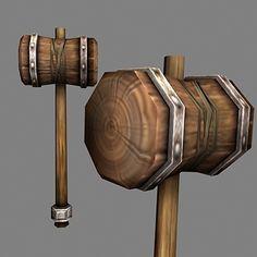 Wood Hammer - $19