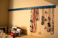 The Brick Bungalow: {Closet} Necklace Organization
