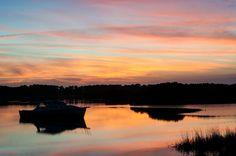 Stunning sunset in Florida